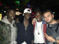 Enock Barwuah Balotelli, M'Baye Niang, Mario Balotelli - Milano - 08-03-2013 - Dillo con un tweet: fine settimana a tinte rossonere