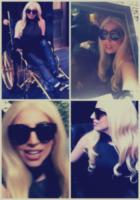 Lady Gaga - Lady Gaga ha fatto costruire una sedia a rotelle tutta in oro