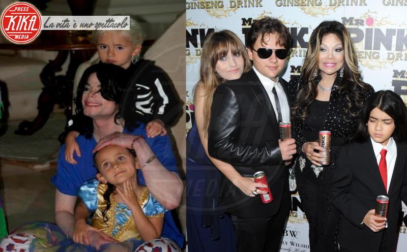 La Toya Jackson, Prince Michael Jackson II, Prince Michael Jackson, Paris Jackson, Michael Jackson - Michael Jackson, la rarissima foto con tutti i figli insieme