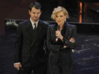 Alessandro Cattelan, Simona Ventura - Sanremo - 13-03-2013 - Oscar della tv: Festival di Sanremo miglior programma