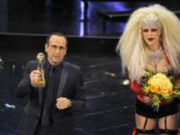 Carlo Conti - Sanremo - 13-03-2013 - Oscar della tv: Festival di Sanremo miglior programma
