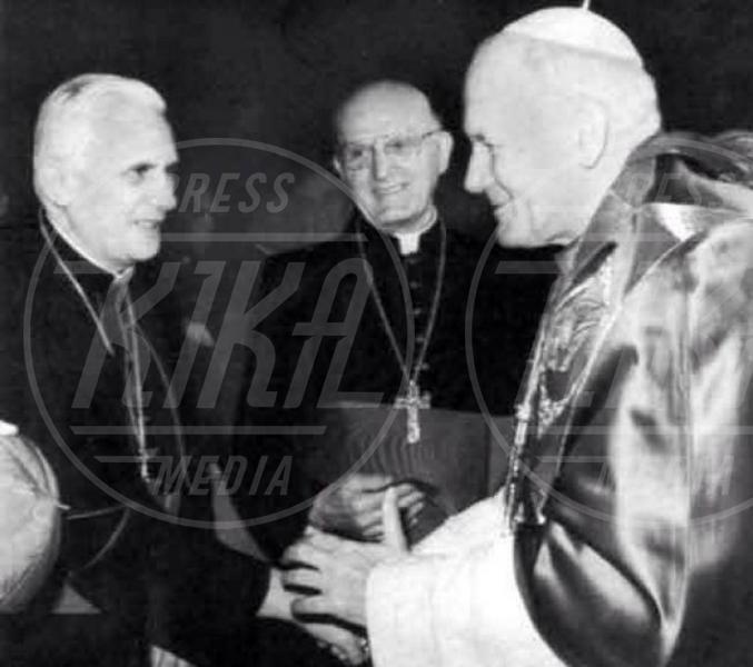 Joseph Ratzinger, Jorge Mario Bergoglio, Papa Giovanni Paolo II - Giovanni Paolo II e Giovanni XXIII santi il 27 aprile