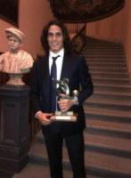 Edinson Cavani - Milano - 19-03-2013 - Dillo con un tweet: esordio hot su Instagram per Raffaella Fico