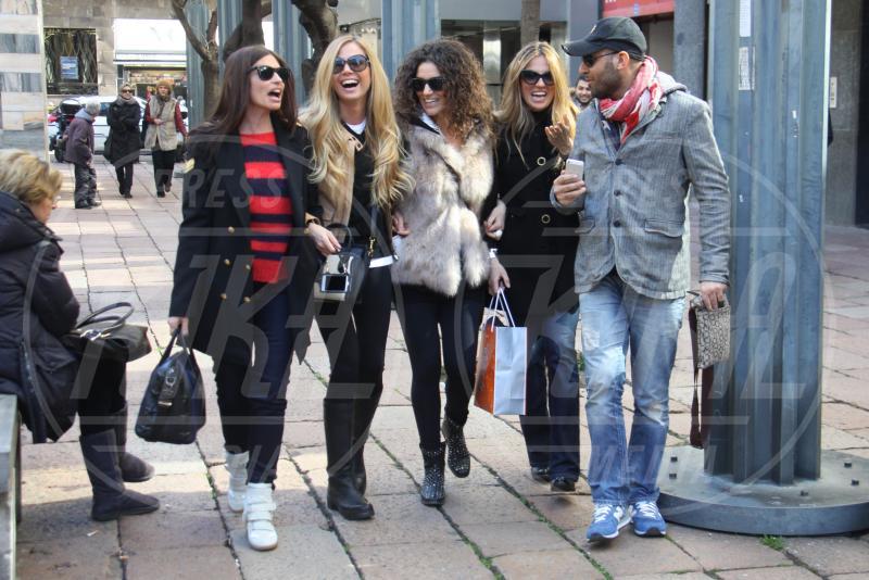 Federica Panicucci - Milano - 19-03-2013 - Rivali sul set? No, amiche per la pelle!