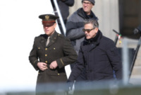 Matt Damon, George Clooney - Berlino - 25-03-2013 - Slitta l'uscita nelle sale di The Monuments Men