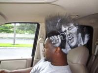 Mohawk Gaz - florida - 27-03-2013 - La pubblicità? Mohawk Gaz ce l'ha… in testa!