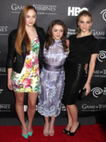 Maisie Williams, Sophie Turner, Natalie Dormer - New York - 28-03-2013 - House of Cards con 3 nomination sbanca la candidature agli Emmy