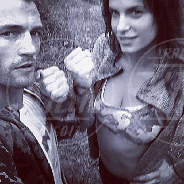 Marcus Kowal, Elisabetta Canalis - 28-03-2013 - Elisabetta Canalis ha un nuovo amore?