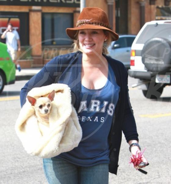 Hilary Duff - Los Angeles - 28-09-2011 - Il cagnetto, dove lo metto? Fai come le celebs!