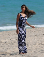 Camila Alves - Miami - 28-03-2013 - Maxi dress: tutta la comodità  dell'estate
