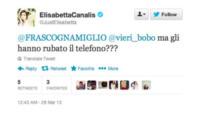 Elisabetta Canalis - Milano - 29-03-2013 - Dillo con un tweet: Christian Vieri ha un chiodo fisso