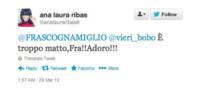 Milano - 29-03-2013 - Dillo con un tweet: Christian Vieri ha un chiodo fisso