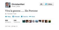 Christian Vieri - Milano - 29-03-2013 - Dillo con un tweet: Christian Vieri ha un chiodo fisso