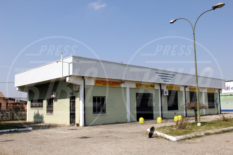Il negozio della famiglia Stasi - Garlasco - 03-04-2013 - Delitto di Garlasco, nuovo test del DNA per Stasi
