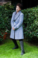 Paola Tiziana Cruciani - Roma - 04-04-2013 - Basta tinta unita! Colora l'inverno con un cappotto fantasia!