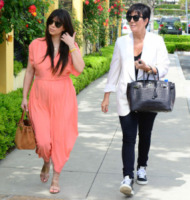 Kim Kardashian, Kris Jenner - Los Angeles - 08-04-2013 - Kim Kardashian vuole mangiare la placenta dopo il parto