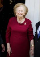 Margaret Thatcher - Londra - 01-11-2010 - Vuoi essere vincente? Vestiti di rosso