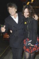 Sally Humphreys, Ronnie Wood - Londra - 09-04-2013 - Ronnie Wood sarà padre di due gemelli a 68 anni