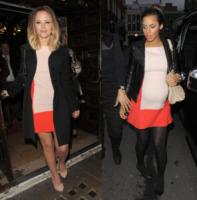 Rochelle Humes, Kimberley Walsh - Londra - 10-04-2013 - Kimberley Walsh e Rochelle Humes: chi lo indossa meglio?