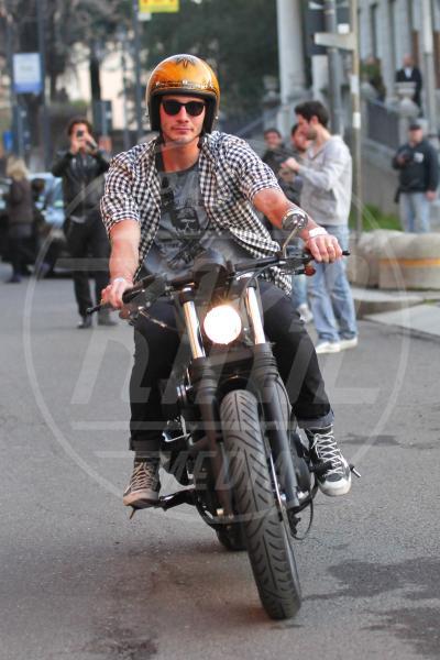 Stefano De Martino - Milano - 10-04-2013 - More? Bionde? Macchè: gli uomini preferiscono le… moto!