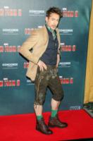 Robert Downey Jr - Monaco di Baviera - 12-04-2013 - Robert Downey jr Pinocchio e Geppetto per Ben Stiller