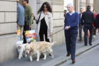 Marco Tronchetti Provera, Afef - Milano - 13-04-2013 - L'autunno è alle porte: è tempo di trench!