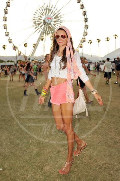 Alessandra Ambrosio - Coachella - 13-04-2013 - Coachella Festival 2013: i look più fantasiosi