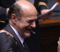 Pierluigi Bersani - Roma - 20-04-2013 - Pierluigi Bersani ricoverato a Parma per un malore