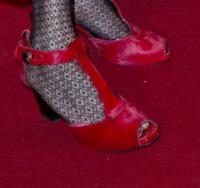 Serena Dandini - Roma - 26-03-2013 - Aperte, chiuse, piccole, grosse: basta che siano scarpe rosse!