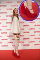 Miriam Leone - Milano - 13-11-2012 - Aperte, chiuse, piccole, grosse: basta che siano scarpe rosse!