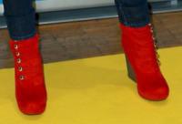 Jane Alexander - Roma - 22-12-2012 - Aperte, chiuse, piccole, grosse: basta che siano scarpe rosse!