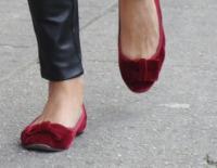 Olivia Palermo - New York - 25-09-2012 - Aperte, chiuse, piccole, grosse: basta che siano scarpe rosse!