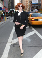 Christina Hendricks - New York - 23-04-2013 - Casual addio: oggi lo street-style diventa bon ton!