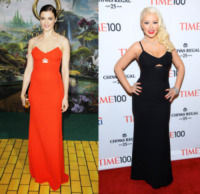 New York - 23-04-2013 - Rachel Weisz e Christina Aguilera: chi lo indossa meglio?
