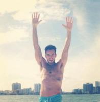 Aaron Diaz - Milano - 26-04-2013 - Dillo con un tweet: Aida Yespica trova l'amore con Roger Jenkis