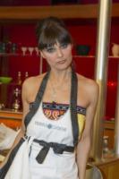 Rosita Celentano - Roma - 26-04-2013 - La Terra dei Cuochi: i vip inforcano le forchette in cucina