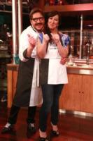 Emanuela Aureli - Roma - 26-04-2013 - La Terra dei Cuochi: i vip inforcano le forchette in cucina
