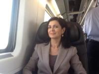 Laura Boldrini - Milano - 29-04-2013 - Dillo con un Tweet: Federica Pellegrini si tuffa su Twitter