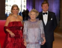 Máxima Zorreguieta Regina d'Olanda, Principe Willem-Alexander, Beatrice d'Olanda - Amsterdam - 29-04-2013 - Gabriella Sancisi, un'italiana alla corte della regina Maxima