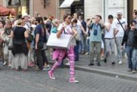 Cristina Chiabotto - Roma - 01-05-2013 - Giù dai tacchi: le Star preferiscono le All Star!