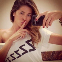 Aida Yespica - 06-05-2013 - Dillo con un tweet: Elisabetta Canalis pedala a Los Angeles