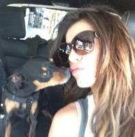 Elisabetta Canalis - Los Angeles - 06-05-2013 - Dillo con un tweet: Elisabetta Canalis pedala a Los Angeles