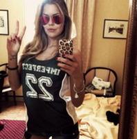Costanza Caracciolo - 06-05-2013 - Dillo con un tweet: Elisabetta Canalis pedala a Los Angeles