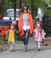 Marion Broderick, Tabitha Broderick, Sarah Jessica Parker - New York - 06-05-2013 - Ellen Pompeo è di nuovo mamma: benvenuta Sienna May!