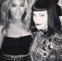 Madonna, Beyonce Knowles - 07-05-2013 - Dillo con un tweet: nasce la coppia Nicole Minetti Guè Pequeno