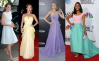 Bar Paly, Kate Middleton, Hayden Panettiere, Kerry Washington - La primavera 2013 sceglie i colori pastello
