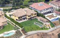 Casa Kardashian West - Bel Air - 08-05-2013 - Una villa in stile mediterraneo per la coppia Kardashian-West