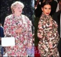 Kim Kardashian, Robin Williams - Robin Williams fa il paragone fra Kim Kardashian e Mrs Doubtfire
