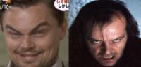 Jack Nicholson, Leonardo DiCaprio - Giappone - 08-03-2013 - Separati alla nascita, riuniti dalla macchina del tempo