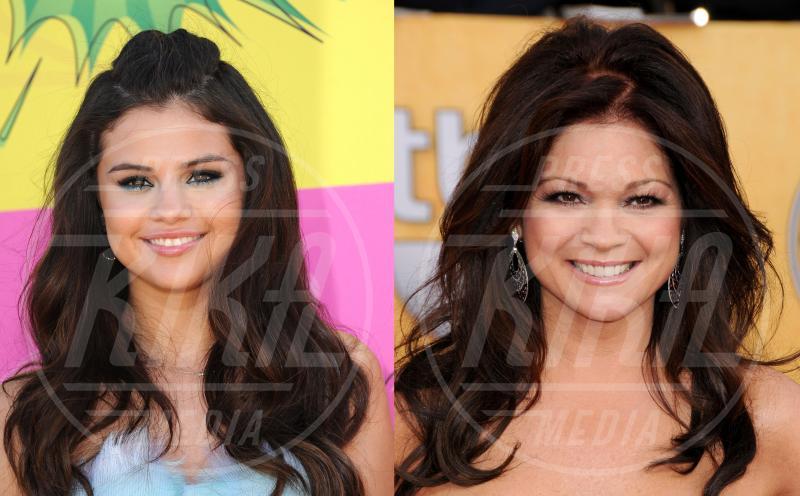 Valerie Bertinelli, Selena Gomez - Hollywood - 28-11-2014 - Separati alla nascita: le star e i loro cloni